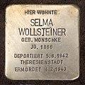 Stolperstein Hektorstr 16 (Halsee) Selma Wollsteiner.jpg