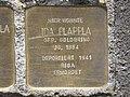 Stolperstein Ida Plappla, 1, Pferdemarkt 5, Wesertor, Kassel.jpg