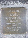 Stolperstein Israel Rosengarten.jpg