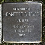 Stolperstein Jeanette Schwab Müllheim.jpg