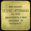 Stolperstein Kreuzberg Kommandantenstr 57 Leonie Herrmann.jpg