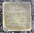 Stolperstein Kurfürstendamm 184 (Charl) Hermann Strauss.jpg