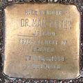 Stolperstein Osdorfer Weg (Max Meyer) in Hamburg-Bahrenfeld.JPG