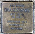 Stolperstein Straßburger Str 60 (Prenz) Sima Süssmann.jpg