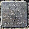 Stolperstein Windeck Kohlberg Eisenstraße Franz Weber.jpg
