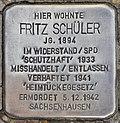 Stolperstein für Fritz Schüler (Potsdam).jpg