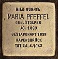 Stolperstein für Maria Pfeffel (Cottbus).jpg