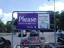 Carriage Return At A Saugus Massachusetts Stop Shop Privately Owned Shopping Carts