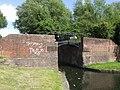 Stourbridge Canal, Footbridge at Lock No. 4 - geograph.org.uk - 872871.jpg
