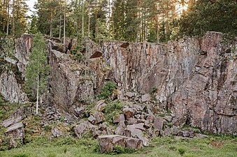 Strömrännan Domedagsdalen i naturreservatet Sveafallen 2017-06-05.jpg