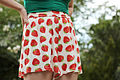 Strawberry Print Shorts from Boohoo (15066468931).jpg