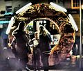 Street donut seller at Salisbury Wiltshire at night.JPG