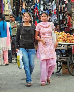 Strolling Shoppers in Paltan Bazaar.jpg