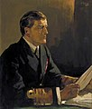 Study for 'Admiral Sir David Beatty (1871-1936), GCB, Reading the Terms of the Armistice to the German Delegates; HMS 'Queen Elizabeth', Rosyth, 16 November 1918' (38519131296).jpg