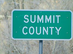 Summit County, Utah sign on SR-32, Apr 16.jpg