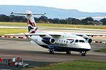 Sun Air of Scandinavia (British Airways livery), Dornier Do-328JET-310, OY-NCN (25235967812).jpg
