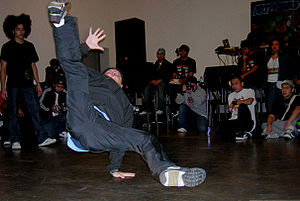 Festál at Seattle Center - Breakdancing competition at Festival Sundiata.