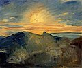 Sunrise on Yushan by Fujishima Takeji (Ishibashi Museum of Art).jpg