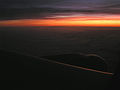 Sunrise over the Channel Sea from a BA A319-200.JPG