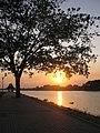 Sunset@Thammamoon , พระอาทิตย์ตกดินท่าน้ำวัดธรรมมูล จ.ชัยนาท - panoramio.jpg