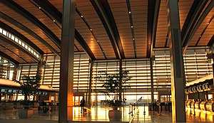 Sacramento International Airport - The new Terminal B lobby