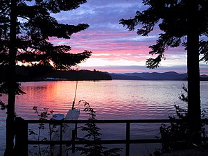 Cavanaugh Bay, Priest Lake.