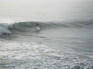 Surfing in Chile - Surf in Punta de Lobos, Pichilemu, Chile.