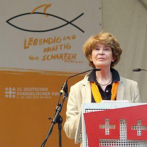 Susan George (political scientist) - Kirchentag Cologne 2007.jpg