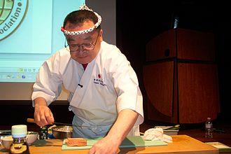 Chef - Image: Sushi chef Masayoshi Kazato 02