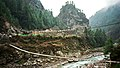 Suspension Bridges Above the Dudh Kosi River (7476662388).jpg