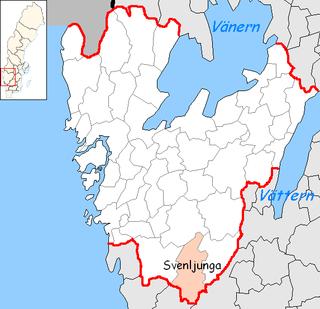 Svenljunga Municipality Municipality in Västra Götaland County, Sweden