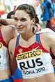 Svetlana Pospelova (Russia 4 x 400 m women Doha 2010, cropped).jpg