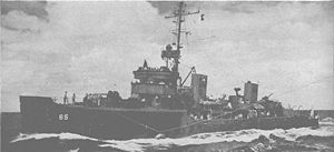 USS Swallow (AM-65) - Image: Swallow (AM 65)