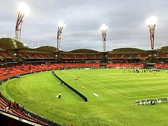 Sydney Showground Stadium - View of the stadium in March 2018
