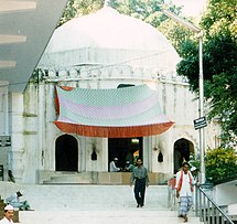 The tomb of Hazrat Shah Jalal in Sylhet.