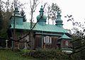 Szczawne, cerkiew gr.-kat. pw. Zasnięcia Marii, ob. prawosławna.JPG