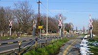Szeged 55-ös főút és 140-es vasútvonal kereszteződése (As 1125) 3013-03-17.JPG