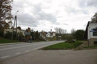 Szonowice Village in Silesian Voivodeship, Poland