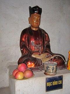 Mạc Đĩnh Chi Confucian scholar