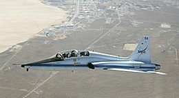 T-38 in flight over Dry Lake - front.jpg