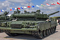 T-80U main battle tank at Engineering Technologies 2012 03.jpg