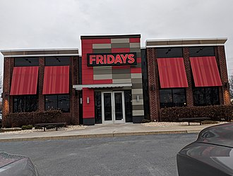 TGI Fridays - A TGI Fridays in Easton, Pennsylvania that uses the new design.