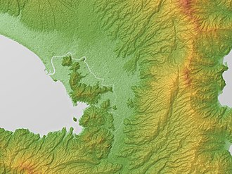 Tanna Fault - Relief Map. Tanna Fault (right)