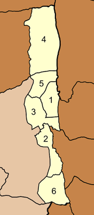 Lam Sonthi District - Map of tambon