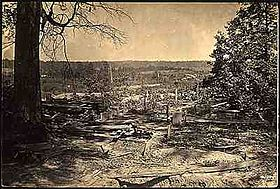 "Few battlefields of the war have been strewn so thickly with dead and wounded as they lay that evening around Collier's Mill."" (Union Major Gen. J.D. Cox)"