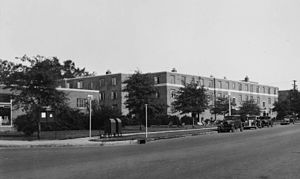 Techwood Homes - Techwood Homes, late 1930s
