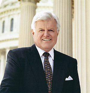 {{w|Ted Kennedy}}, Senator from Massachusetts.