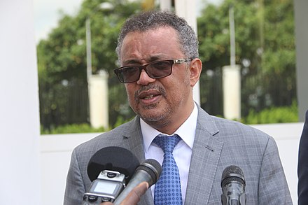 WHO Director-General Tedros Adhanom