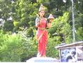 Telangana Talli Statue in Pedda Korpole.png