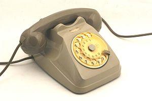 "Italtel - Telephone set ""Bigrigio"" (Siemens S62), 1960s"